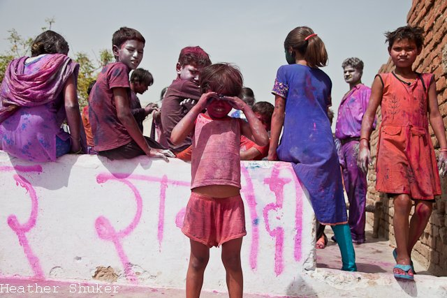 holi in the family home