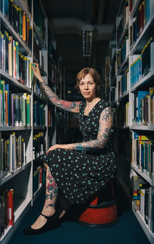 Tattooed Librarian