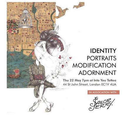 Identity, portraits modification exhibition